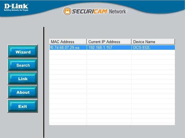 Click on    Sear...D Link Dcs 932l Setup Wizard