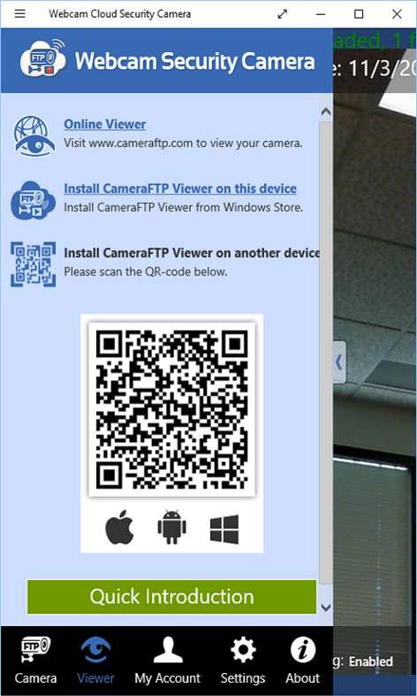 Cameraftp Mobile Security Camera Use Old Windows Phone