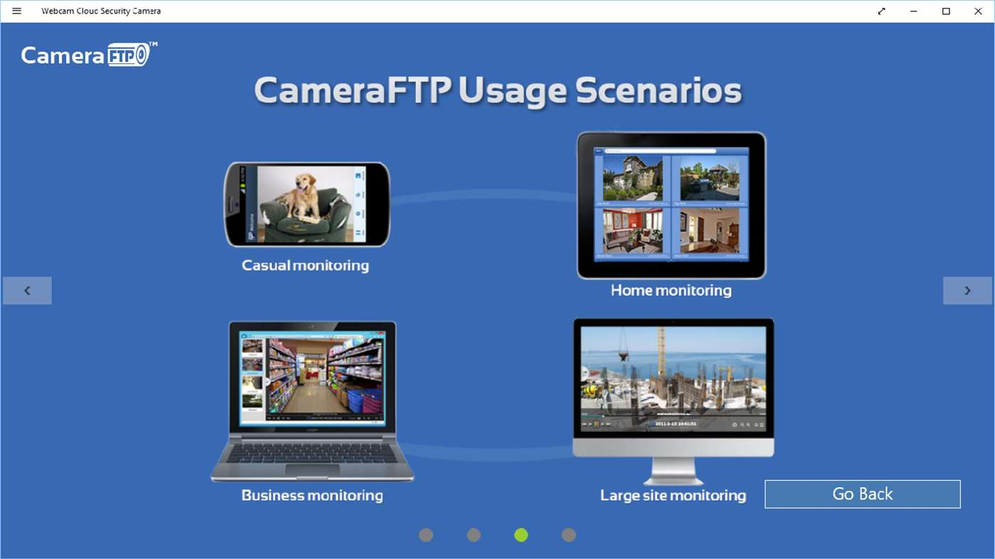 Webcam Security Camera APP - Use Webcam as IP Security Camera