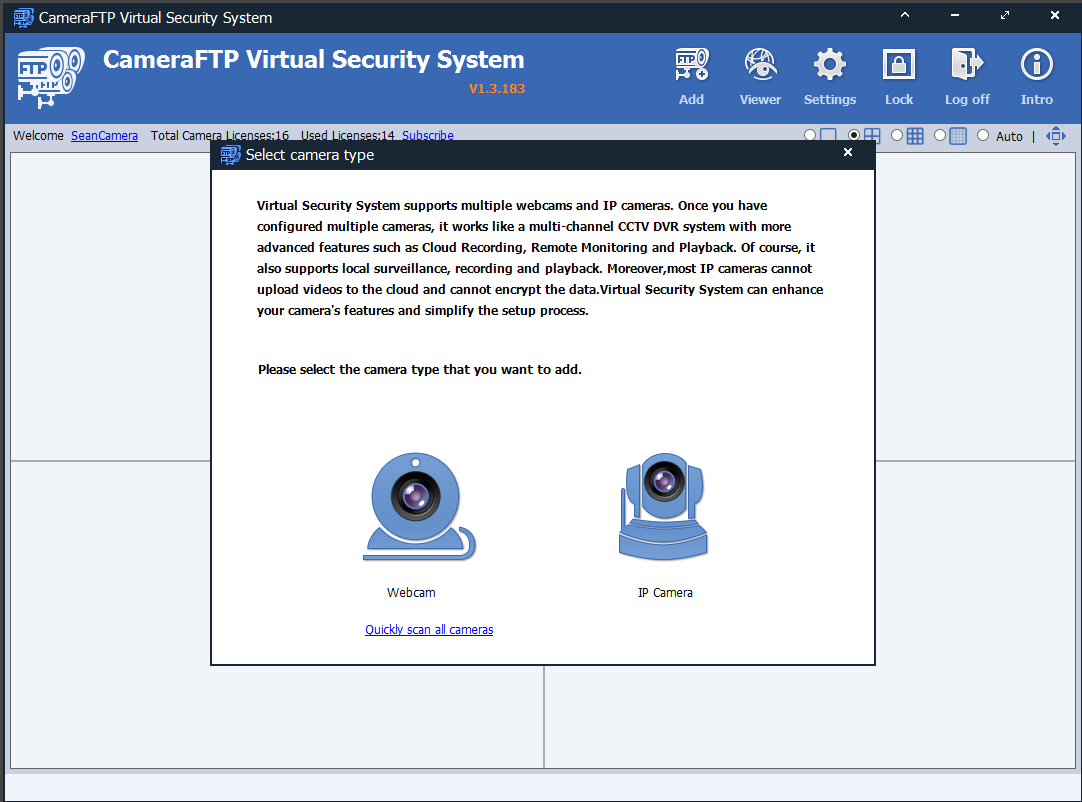 CameraFTP Virtual Security System: use PC/laptop as Cloud