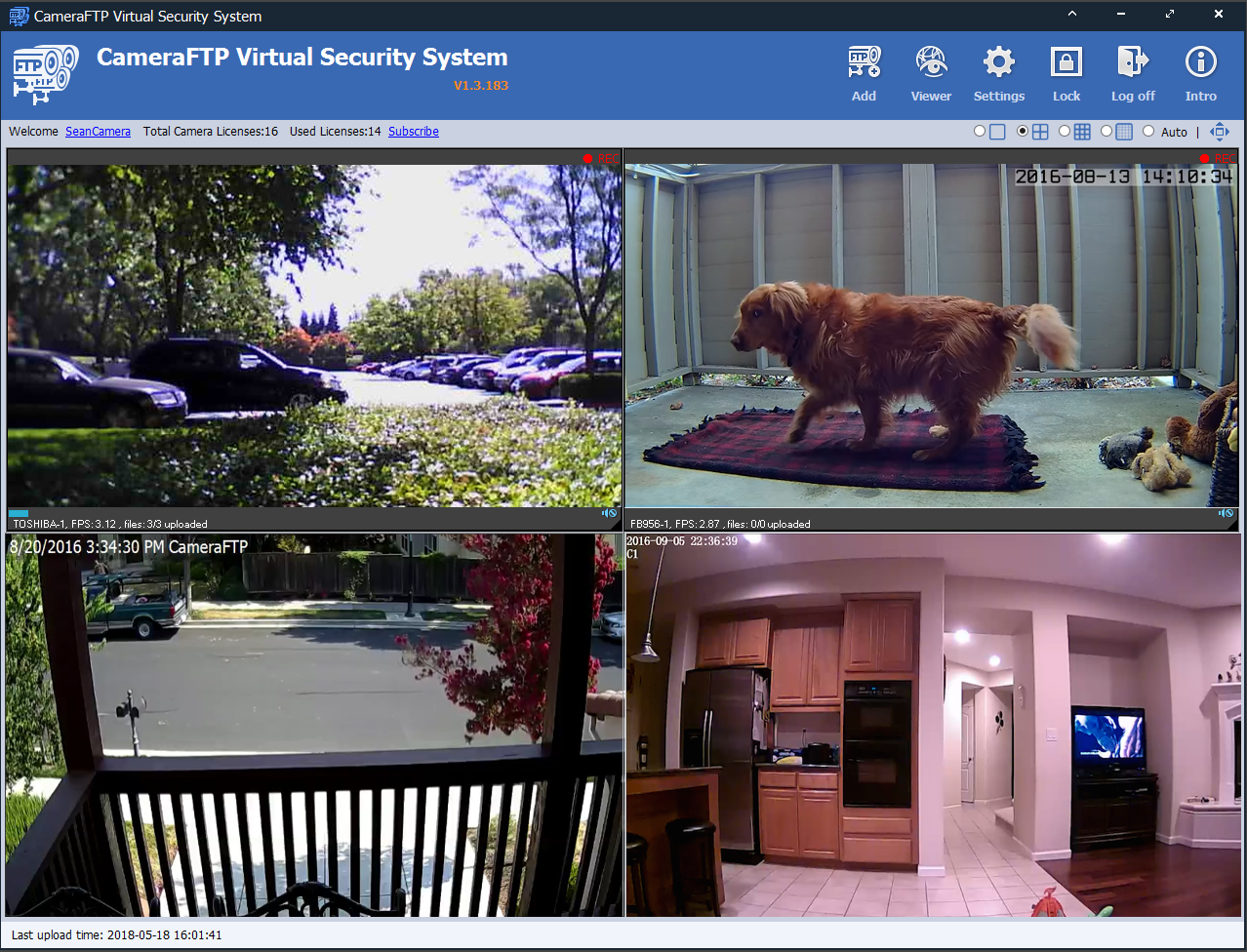 Download CameraFTP Software: Mobile Security Camera