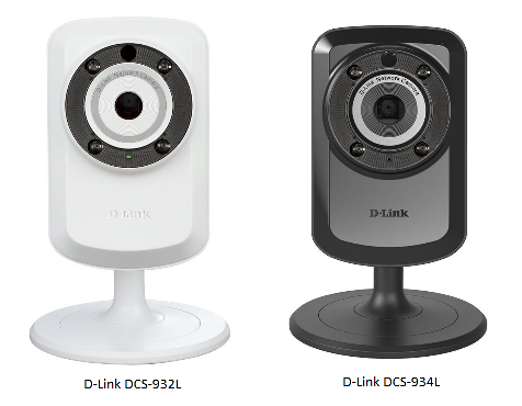 Configure D-Link DCS-932L, 930L, 931L and 934L to upload