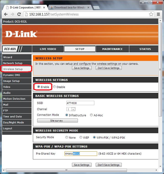 Configure D-Link DCS-932L, 930L, 931L and 934L to upload ...