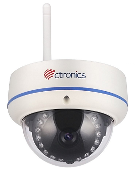 Configure Ctronics network cameras to upload image snapshots