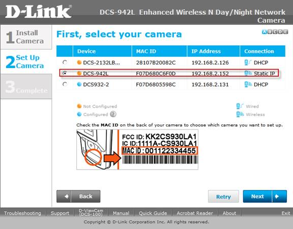 Configure D-Link DCS-942L to upload image snapshots / video clips to