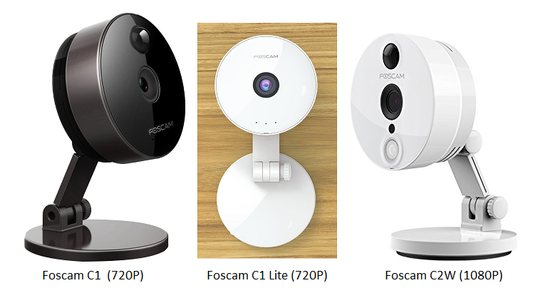 Configure Foscam C1, C1 Lite and C2W network Camera to