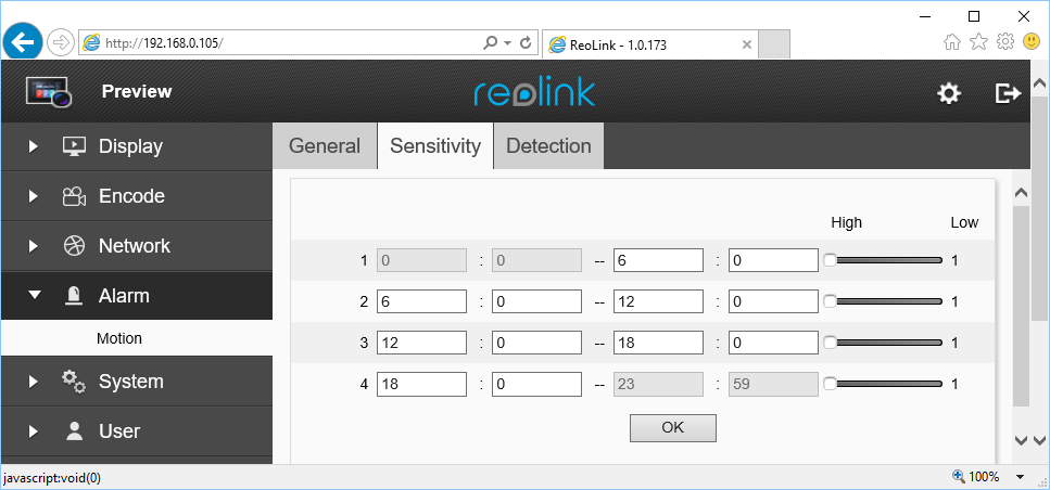 Configure Reolink RLC-410, 411, 420, 422 to upload video clips (and