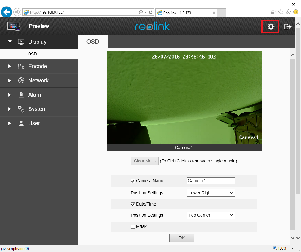 Configure Reolink RLC-410, 411, 420, 422 to upload video