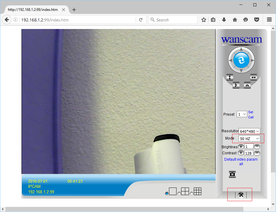 Configure Wanscam Cameras to upload images / video clips to