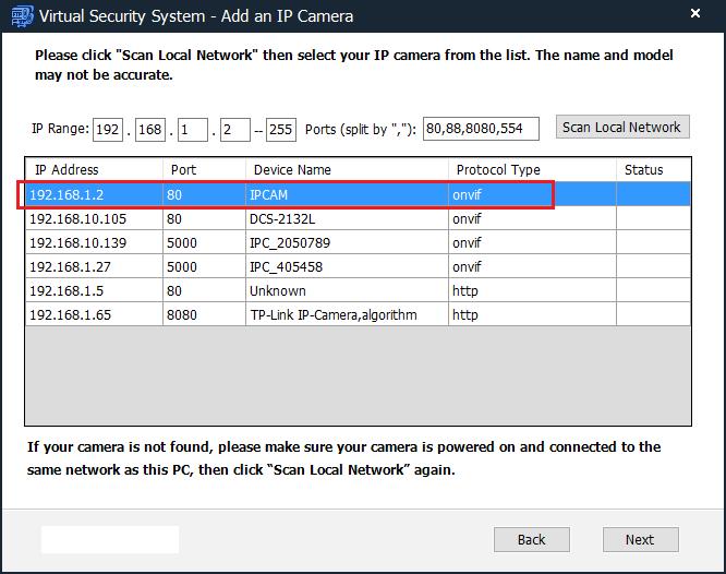 Configure Wansview NCM620GA, MCM622GA, M625W, NCM751GA, K1 PTZ